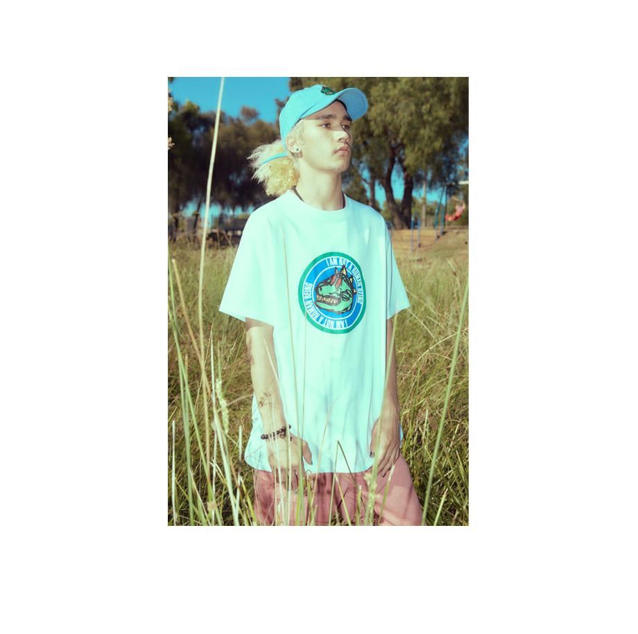 아임낫어휴먼비잉(18SS) DINO BALL CAP - BEIGE