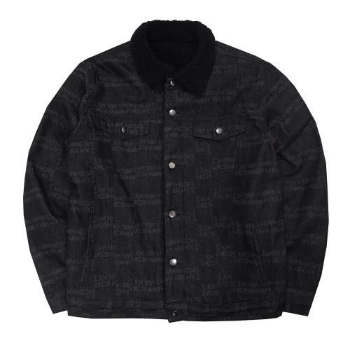 AUTOGRAPH DENIM SHERPA JACKET - O/C